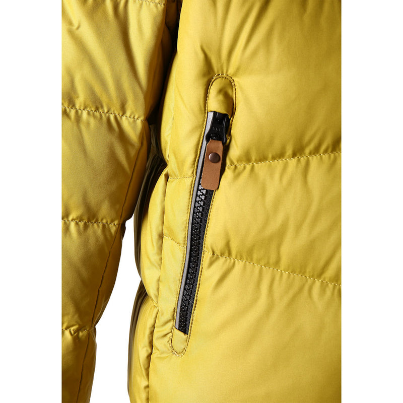 Reima Kids Martti Down Jacket (Moss Yellow)-Little Adventure Shop