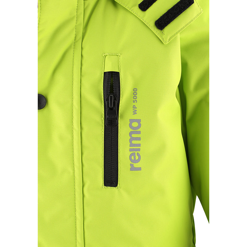 Reima Winter Overall Ski Suit (Lime Green)-Little Adventure Shop