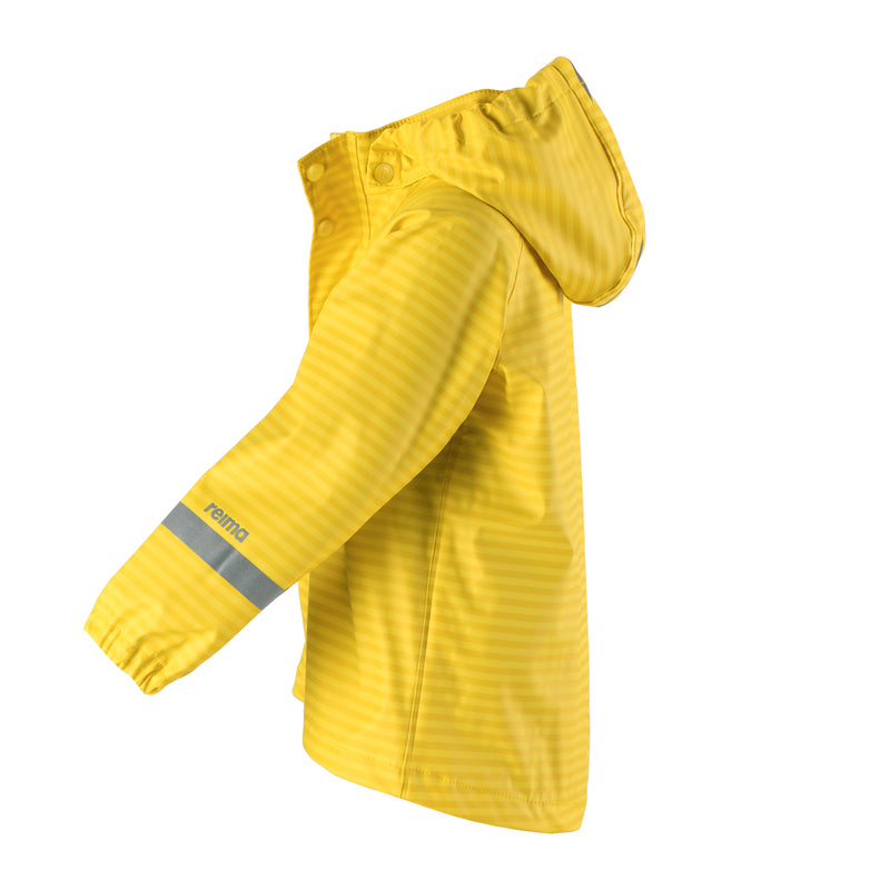Reima Vesi Kids Waterproof Jacket (Yellow)-Little Adventure Shop
