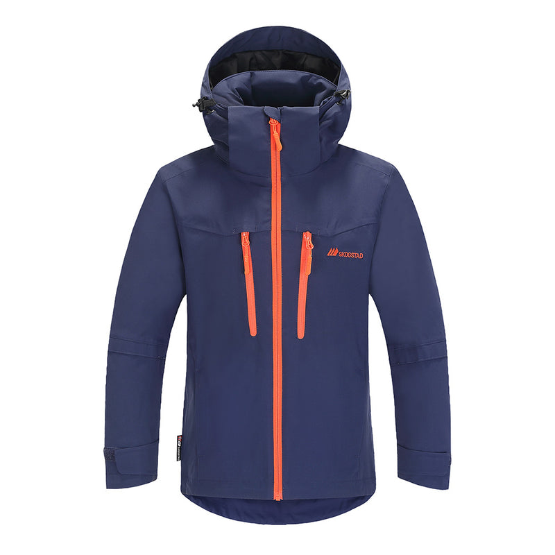 Skogstad Boys Raudelva Ski Jacket (Prime Navy)-Little Adventure Shop