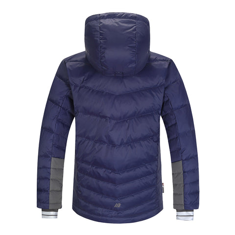 Skogstad Boys Hureset Down Jacket (Prime Navy)-Little Adventure Shop