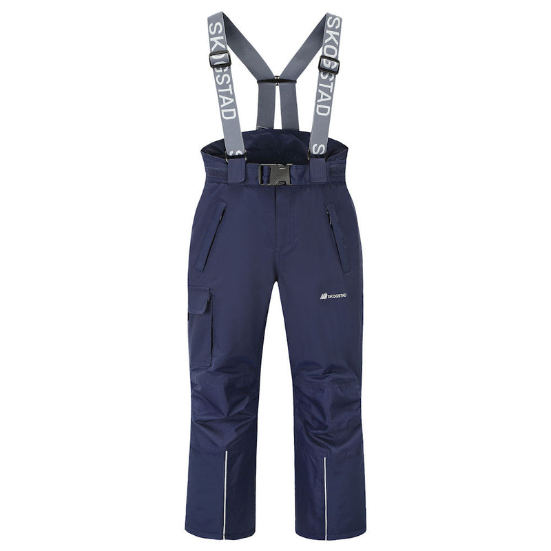 Skogstad Youth Panther Tord Ski Pants (Prime Navy)-Little Adventure Shop