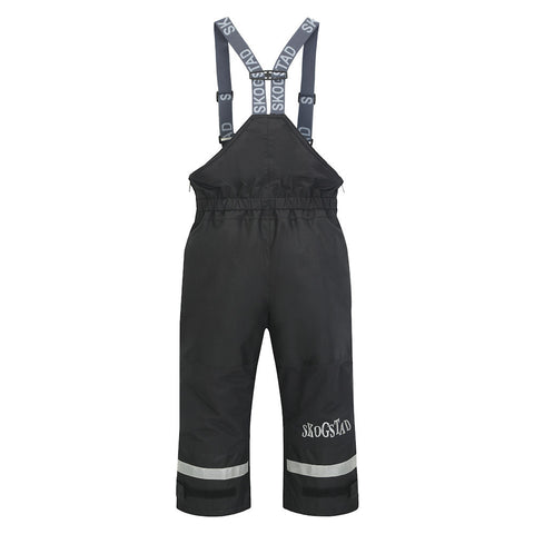Skogstad Rime Kids Ski Trousers (Black)-Little Adventure Shop