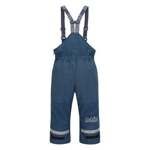 Skogstad Rime Kids Ski Trousers (Blue Teal)-Little Adventure Shop