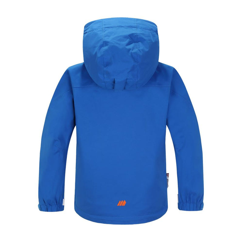Skogstad Little Kids Klenevagen Waterproof Jacket (Blue)-Little Adventure Shop