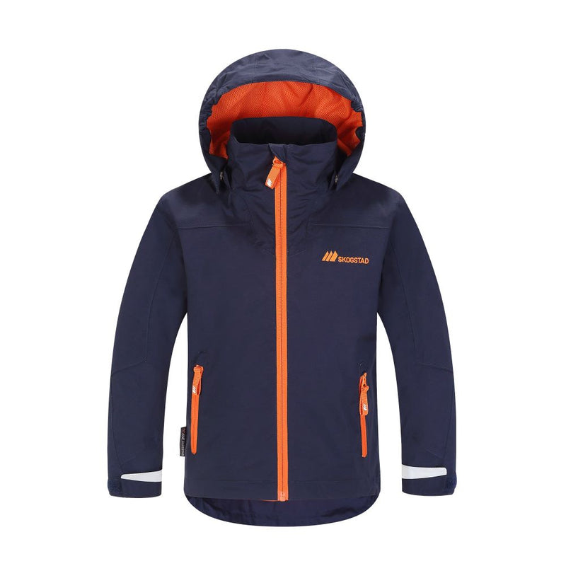 Skogstad Little Kids Klenevagen Waterproof Jacket (Navy)-Little Adventure Shop