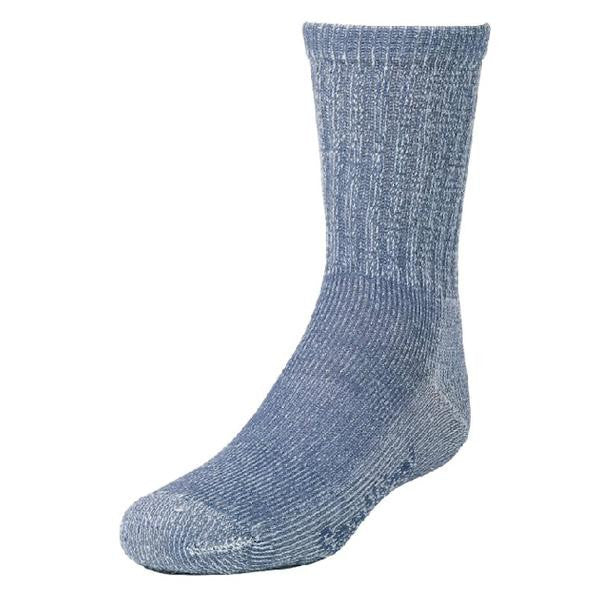Smartwool Kids Hiking Light Crew Socks (Denim)-Little Adventure Shop