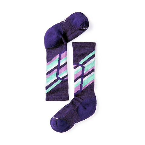 Smartwool Kids Ski Racer Socks (Mountain Purple)-Little Adventure Shop