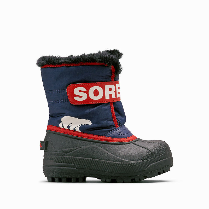 Sorel Snow Commander Kids Snow Boots (Nocturnal)-Little Adventure Shop