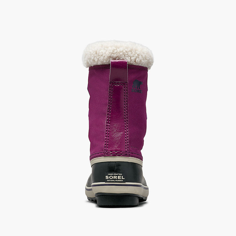 Sorel Yoot Pac Nylon Kids Snow Boots (Wild Iris)-Little Adventure Shop