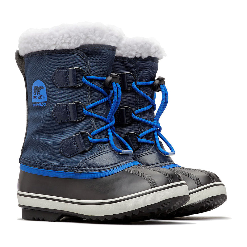Sorel Yoot Pac Nylon Kids Snow Boots (Collegiate)-Little Adventure Shop