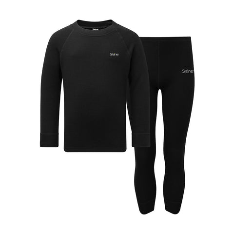 Steiner Kids Soft-Tec Thermal Set (Black)-Little Adventure Shop