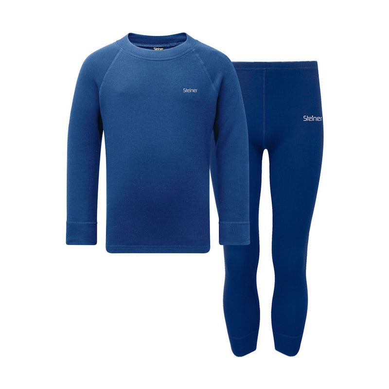 Odlo Kids Warm Crew Thermal Top (Sea)