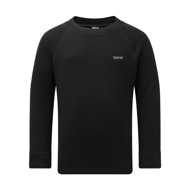 Steiner Kids Soft-Tec Thermal Top (Black)-Little Adventure Shop