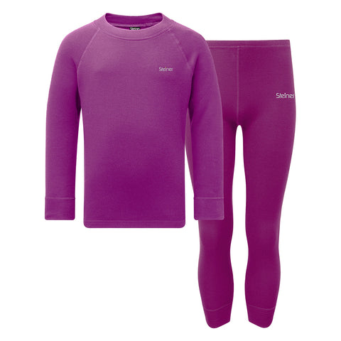 Steiner Kids Soft-Tec Thermal Set (Purple)-Little Adventure Shop