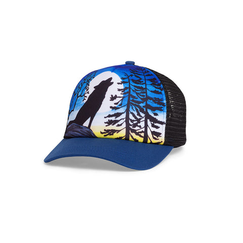 Sunday Afternoons Kids Trucker Cap (Howling Moon)