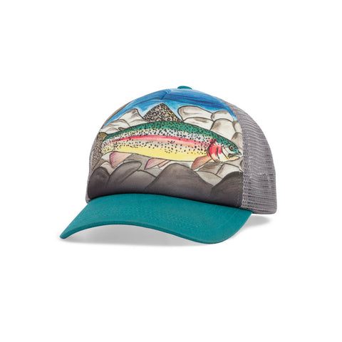 Sunday Afternoons Kids Trucker Cap (Rainbow Trout)