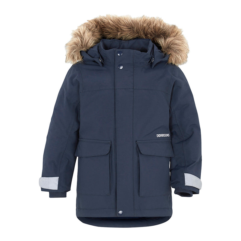 Didriksons Lun Kids Ski Jacket (North Sea)