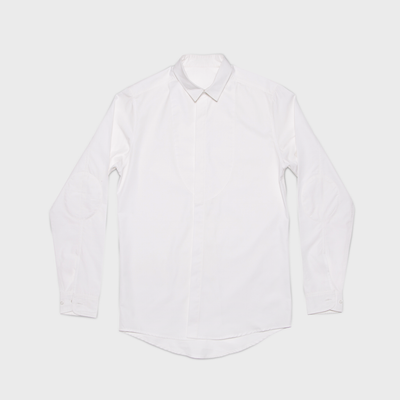 White Button Down - Shirt - MyVice Sweats Collection