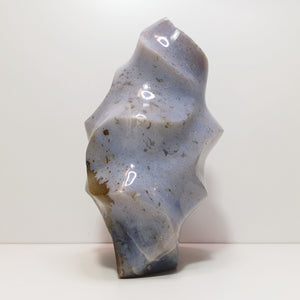 Ocean Jasper Flame Carving