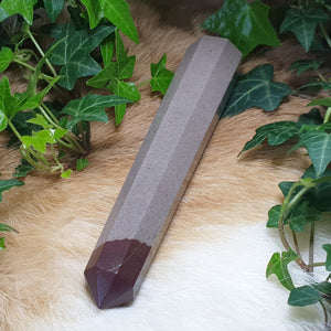 Shiva Narmada Faceted Wand