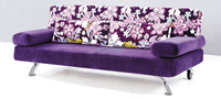 Mag 3 Seater Fabric Sofa Bed (DA3079)-Home Space-Sleep Space