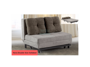 Nora Double Size Sofa Bed (DA3802)-Home Space-Sleep Space