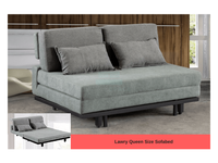 Lawry Queen Size Sofa Bed (DA3803)-Home Space-Sleep Space