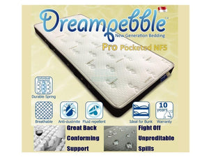 Dreampebble Pro Pocketed NF5-Dreampebble-Sleep Space