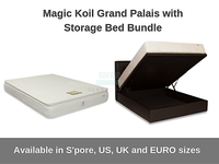 Magic Koil Grand Palais with Storage Bed Bundle