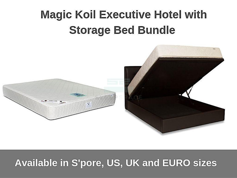 Magic Koil Executive Hotel with Storage Bed Bundle-Magic Koil-Sleep Space