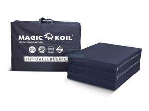 "Magic Koil High Density Latex Foam Folding Mattress - 4"" (Most Popular)-Magic Koil-Sleep Space"