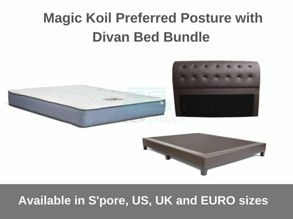 Magic Koil Preferred Posture with Divan Bed Bundle-Magic Koil-Sleep Space