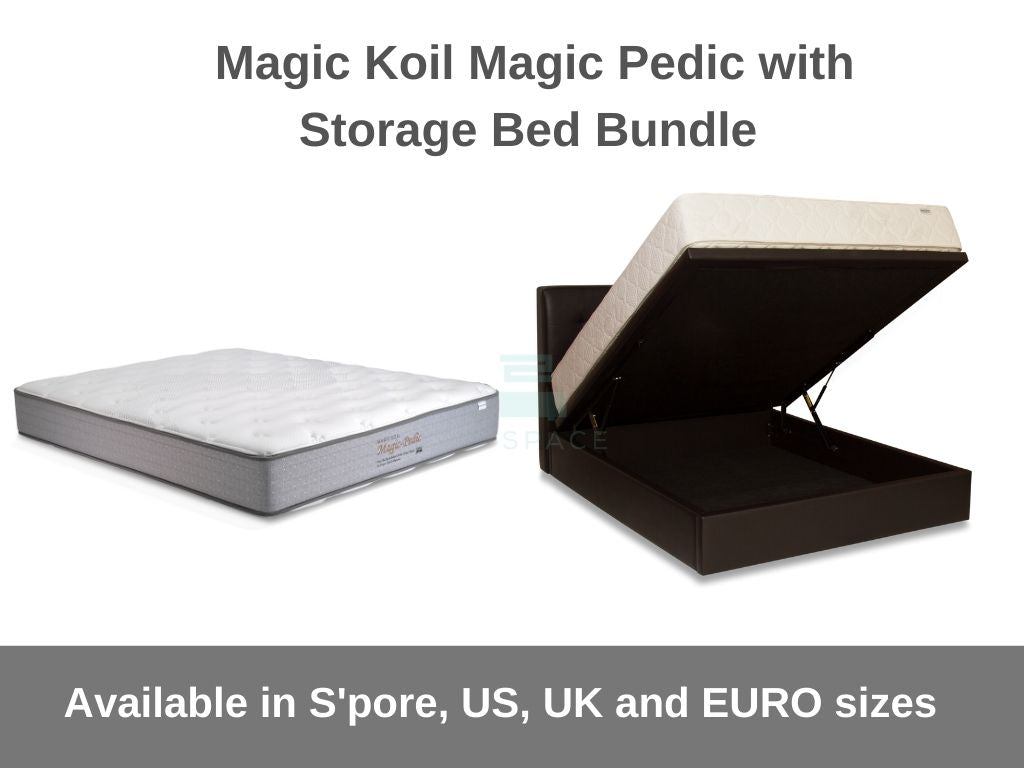 Magic Koil Magic-Pedic with Storage Bed Bundle-Magic Koil-Sleep Space