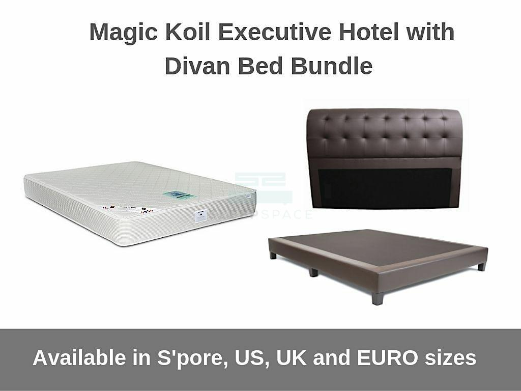 Magic Koil Executive Hotel with Divan Bed Bundle-Magic Koil-Sleep Space