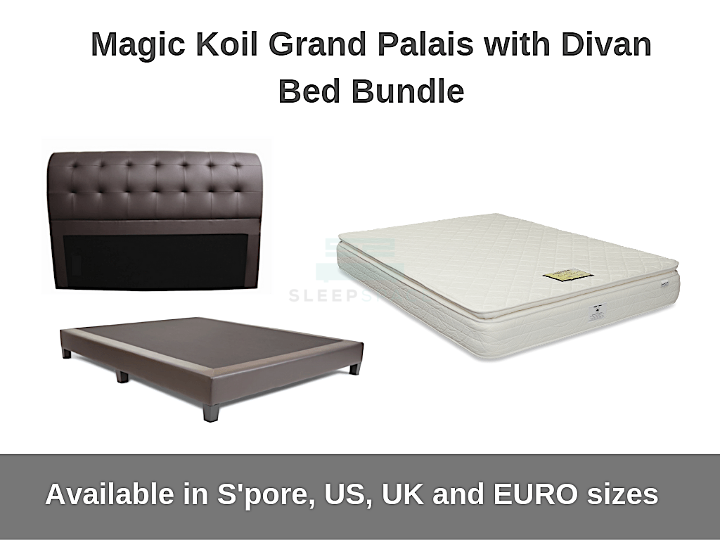 Magic Koil Grand Palais with Divan Bed Bundle-Magic Koil-Sleep Space
