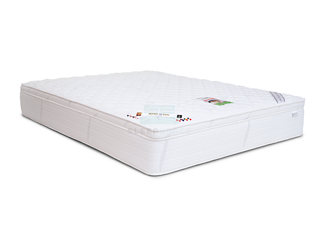 Magic Koil Innovation Pocket Spring Mattress With Plush Top (Mosquito Free Fabric)