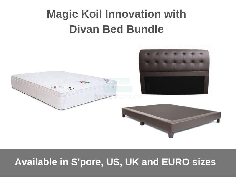 Magic Koil Innovation with Divan Bed Bundle-Magic Koil-Sleep Space
