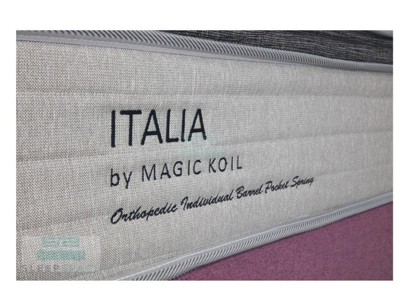 Magic Koil Italia Pocket Spring Plush Top Mattress-Magic Koil-Sleep Space