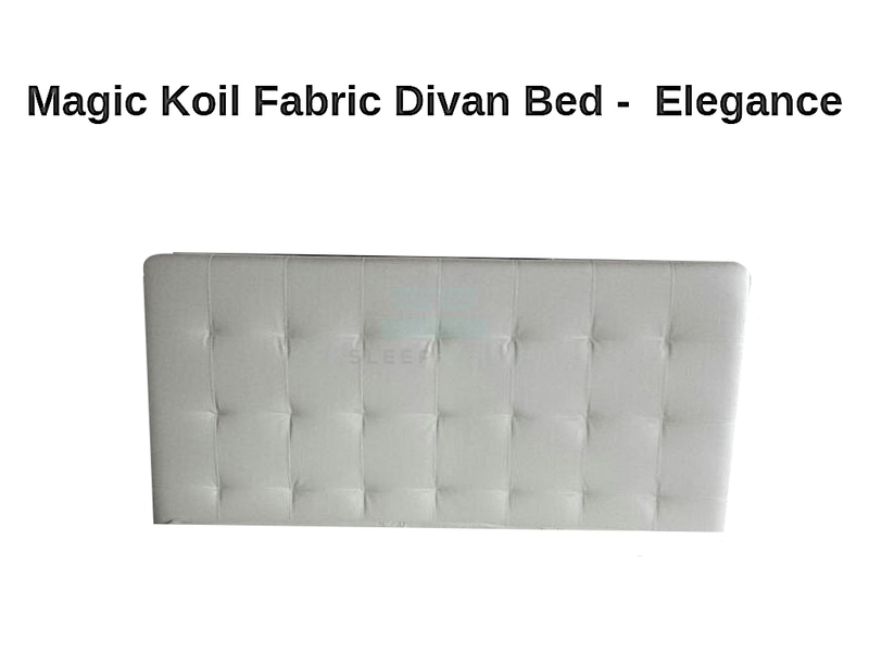 Magic Koil Fabric Divan Bed – Elegance-Magic Koil-Sleep Space
