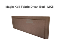 Magic Koil Fabric Divan Bed – MK8-Magic Koil-Sleep Space