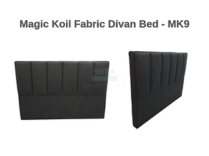 Magic Koil Fabric Divan Bed – MK9-Magic Koil-Sleep Space