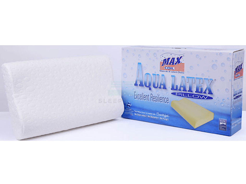 Maxcoil Aqua Latex Pillow-Maxcoil-Sleep Space