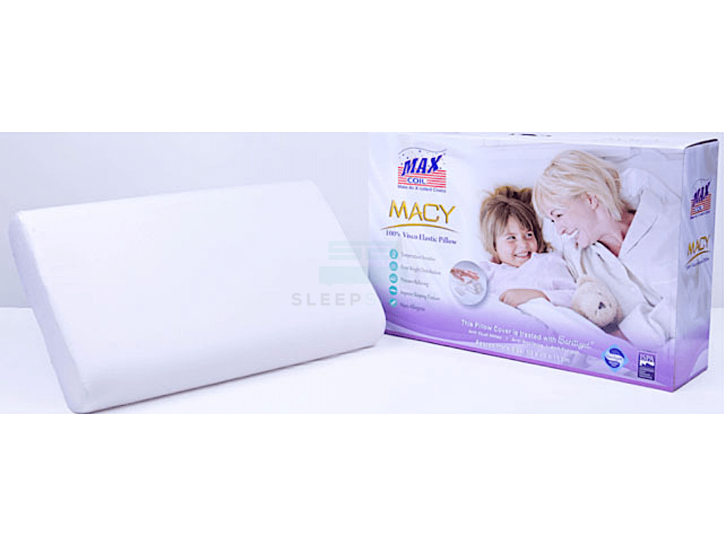MaxCoil Macy Memory Foam Pillow-Maxcoil-Sleep Space