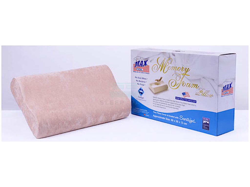 Maxcoil Memory Foam Pillow-Maxcoil-Sleep Space