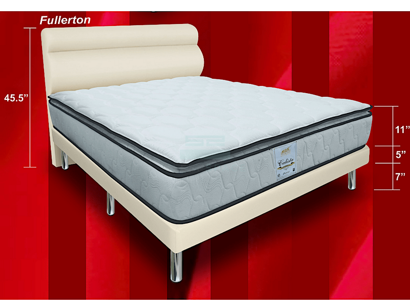 MaxCoil Calista Orthopedic Spring Mattress & Bed Bundle-Maxcoil-Sleep Space
