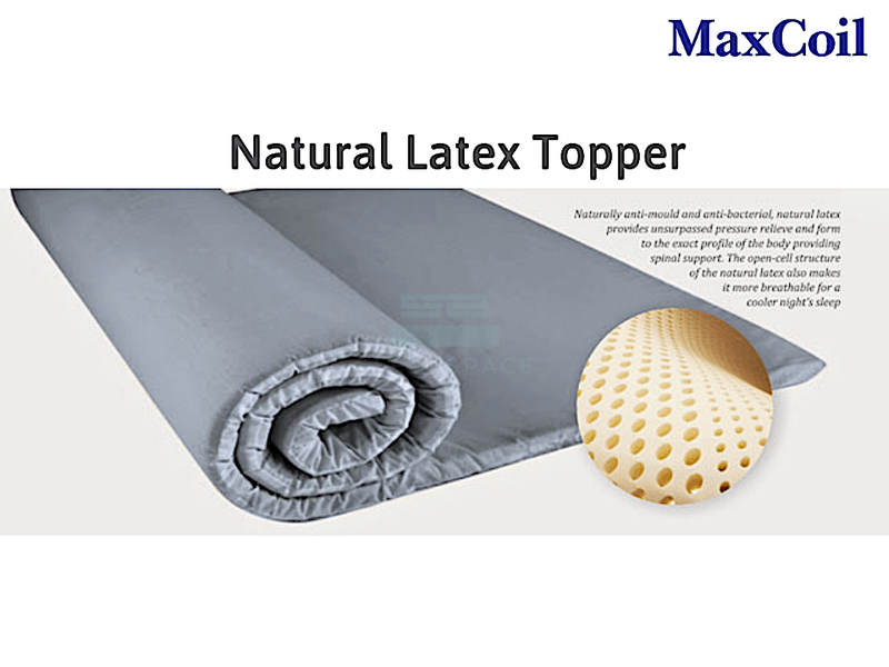Maxcoil Perfect Sleeper Natural Latex Mattress Topper