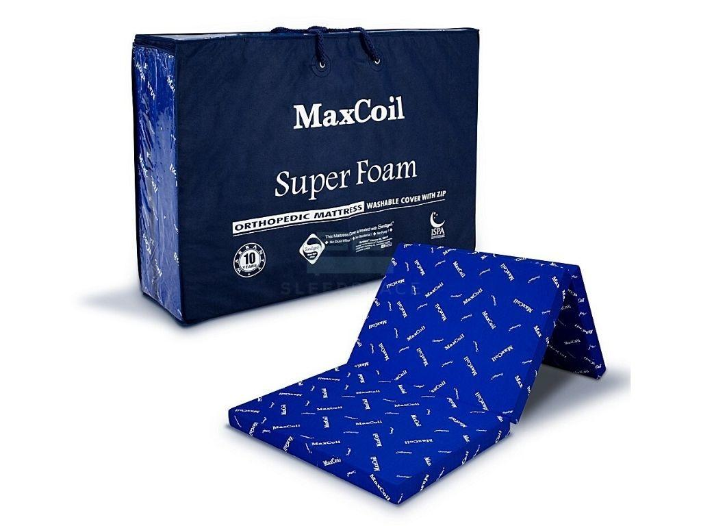 Maxcoil Super Foam Foldable Orthopedic Mattress – 2″,3″,4″-Maxcoil-Sleep Space