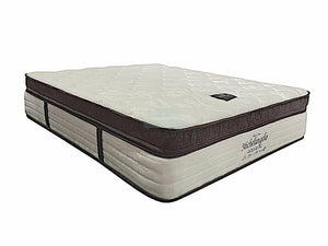 Princebed Michelangelo Pocketed Spring Mattress with Natural Latex Topper-Princebed-Sleep Space