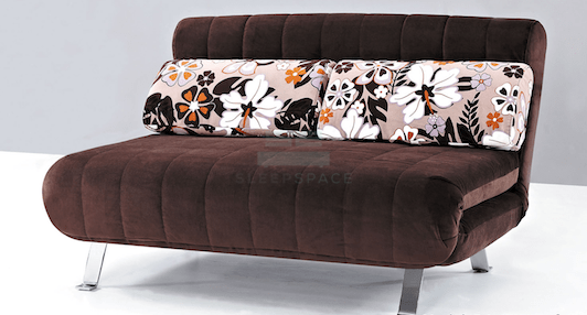 Ros 2 Seater Fabric Sofa Bed (DA3080)-Home Space-Sleep Space